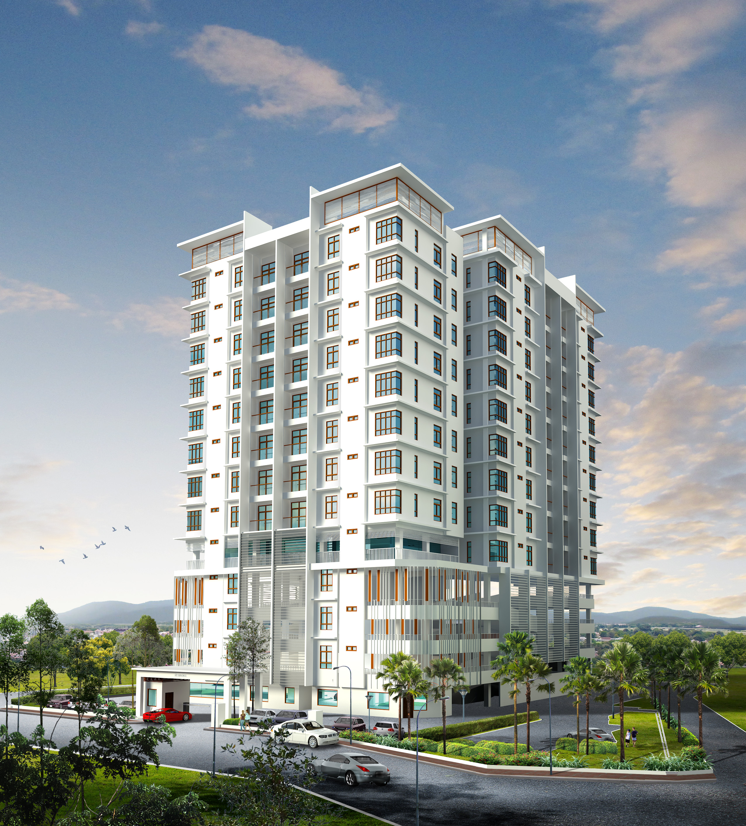 Incredible Price at RM280,800 for 1,200 sqft!  Low Density at 52 units only
