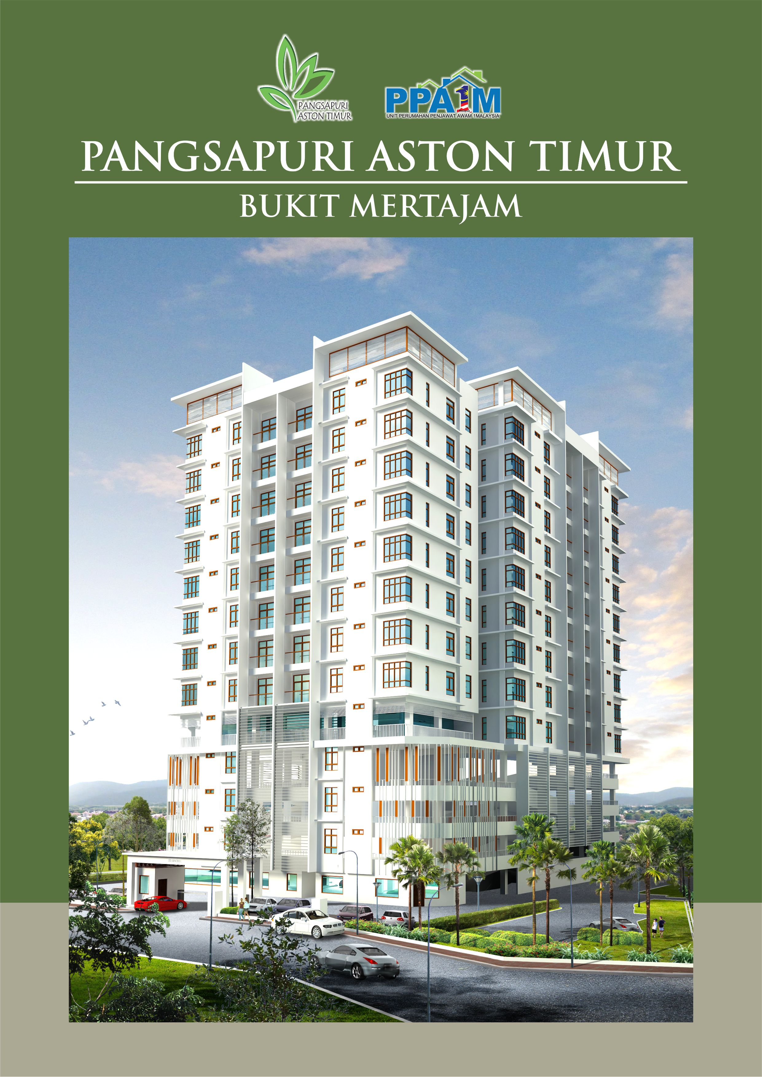 Incredible Price for Goverment Officers RM280,800 for 1,200 sqft!  Low Density at 52 units only